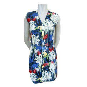 Kare Spade Saturday Floral Cotton Blend Dress S